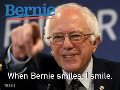 #Vote4Bernie & Have Something  To Smile About. A President Who Is Scandal-Free & NOT Facing FBI & Department Of Justice Investigations & Indictments. #FuelTheBern.