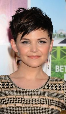 Thinking about getting this pixie cut for summer? o_O p.s. I love Ginnifer Goodwin in Once Upon A Time.