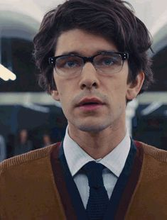 Ben Whishaw - Q the glasses, the cardigan, that hair.