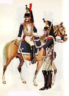 """[Airfix 54mm] """"French Cuirassier 1815"""" ref 02555"""