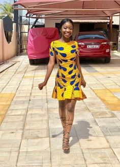 Over 150 Kitenge Designs: Best Kitenge Fashion Ideas for 2020 Short African Dresses, Ankara Short Gown Styles, African Print Dresses, Short Dresses, African Prints, African Fabric, African Fashion Ankara, Latest African Fashion Dresses, African Print Fashion