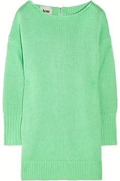 ACNE  Shore oversized chunky-knit cotton sweater