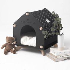 Cat Gym, Cat Tree House, Animal Gato, Cat Playground, Dog Furniture, Animal House, Diy Stuffed Animals, Dog Houses, Cat Design