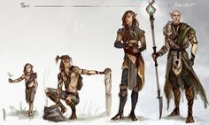 Some Solas concepts, past to present.Had this in my PC for a while now, been messing with it between commissions.