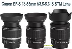 Buy new Canon EF-S 18-55mm f/3.5-5.6 IS STM Lens with Optimized lens coatings ensure color balance, high-precision aspherical element supports Canon's EOS Movie Servo AF feature.