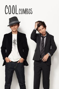 COOL COMBOS: Nordstrom Boys Suits & Separates