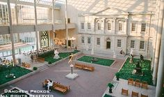 Metropolitan Museum American Wing Courtyard