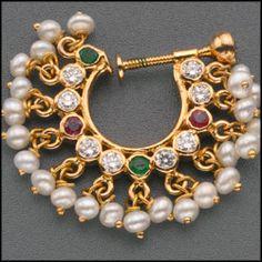 Diamond Nose Ring Price In Malabar Gold