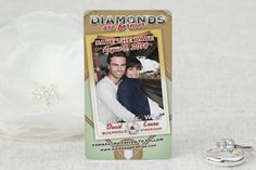 Diamonds are Forever - Save the Date Magnet by MagnetStreet 400 for $272