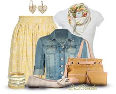"""""""Sunny Spring Day"""" by lv2create ❤ liked on Polyvore"""
