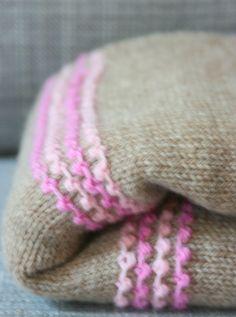 Simple Baby Blanket Knitting Pattern, via Etsy.