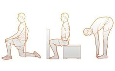 Your hip flexors, ankles and big toes are likely to be tight. Here's the remedy.
