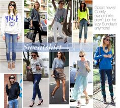 Sweetie Pie Style: How to Style A (Chic!) Sweatshirt