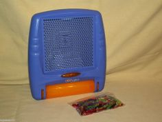 LITE BRITE PURPLE FLAT SCREEN BATTERY OP WITH PEGS ONLY LOOSE 2003 HASBRO C-022E #Hasbro