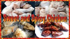 Sweet and Spicy Chicken Bonchon Style Easy Recipes, Easy Meals, Sweet And Spicy Chicken, Channel, Make It Yourself, Cooking, Youtube, Food, Style
