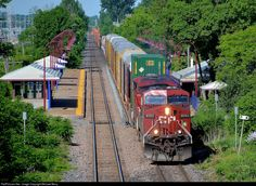 RailPictures.Net Photo: CP 9701 Canadian Pacific Railway GE AC4400CW at Pointe-Claire, Quebec, Canada by Michael Berry