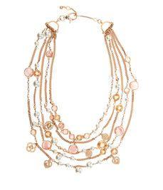 Socialite Layered Pearl Collar