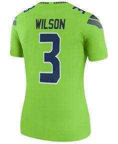 f0264e802 Nike Women Russell Wilson Seattle Seahawks Color Rush Legend Jersey