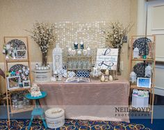 Love Your Day Designs bridal show booth design, photo by Neil Boyd Photography | via loveyourdaydesignsblog.com | Design Projects: Showtime | Crabtree Marriott