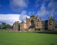 Thirlestane Castle, Lauder, The Borders, Scotland. Photography Photos, Landscape Photography, Uk Landscapes, Scotland Castles, Photo Library, Photo Galleries, England, Mansions, House Styles