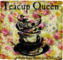Love good tea and pretty teacups.