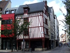 Rouen- I visited this charming ancient town  in March 2013- where St Joan of Arc was martyred.
