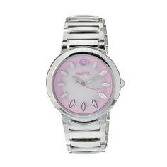 Philip Stein Men%27s F36S-P-EXB Quartz Stainless Steel Pink Dial Watch