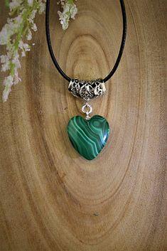 Sima-polodrahokamy / prírodný malachit prívesok Washer Necklace, Jewelry, Fashion, Malachite, Moda, Jewlery, Jewerly, Fashion Styles, Schmuck