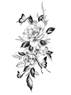 Vine Tattoos, Rosen Tattoos, Body Art Tattoos, Tattoo Drawings, Piercing Tattoo, Arm Tattoo, Sleeve Tattoos, Piercings, Flower Tattoo Designs