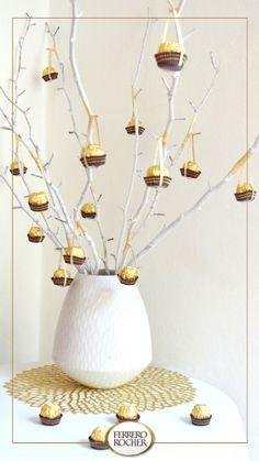 [Thalie] Grâce à quelques astuces, découvrez comment faire pousser des Ferrero Rocher dans les arbres !