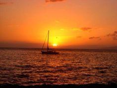 Tonya Hutson-Sunset in Maui