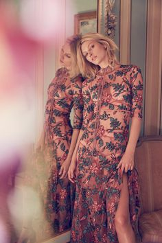 Dreamy lace and enchanting prints for summer, all on flowy silhouettes, For Love & Lemons' Summer '16 Collection is here.