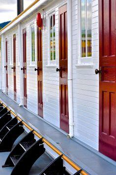 Doors on the Klondike in Whitehorse
