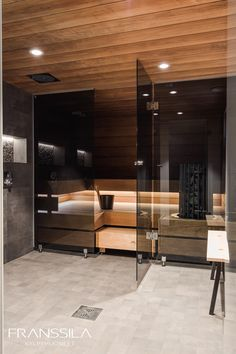 Home Spa Room, Spa Rooms, Small Toilet Room, Sauna Design, Sauna Room, Saunas, Dream House Exterior, Bathroom Inspiration, Bathroom Interior