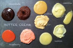 Basic butter cream or American buttercream is an easy cupcake frosting to make. Today we will look at the basic recipe and some of my favourite variations.  UPDATE: See seven different frosting recipes in a taste …