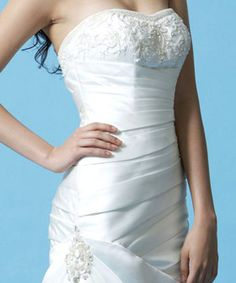Loving this embellished and embroidered bodice...