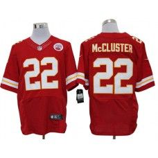 Nike Dexter McCluster Jersey Elite Team Color Red Kansas City Chiefs #22