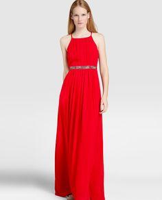 Vestido de fiesta de mujer Tintoretto con strass