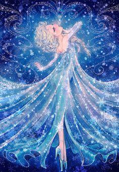 Disneylicious. Reina Elsa, de la película Frozen.