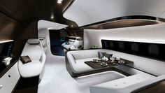 The Mercedes-Benz VIP Jet Cabin Is Like an S-Class in the Sky, But Better   Aviation