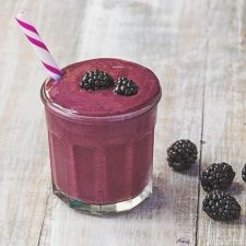 So Berry Vanilla Protein Smoothie