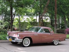 7 Ford Thunderbird 1957. Maintenance/restoration of old/vintage vehicles: the material for new cogs/casters/gears/pads could be cast polyamide which I (Cast polyamide) can produce. My contact: tatjana.alic@windowslive.com