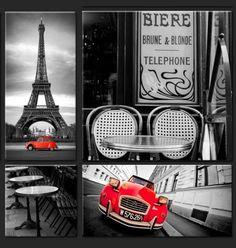 Assemblage de 4 pièces - Paris