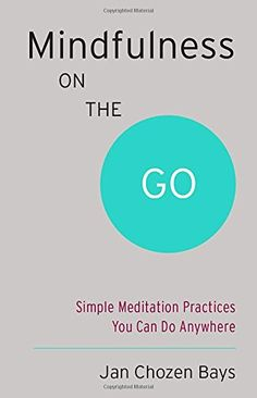 Amazon.com: Mindfulness on the Go (Shambhala Pocket Classic): Simple Meditation Practices You Can Do Anywhere (9781611801705): Jan Chozen Bays: Books