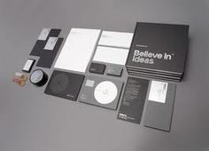 graphic design stationery - Google Search