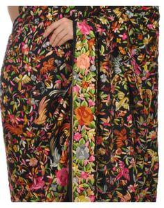 Masterpiece Parsi Gara Hand Embroidered Saree (Made on order)