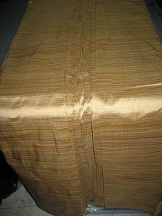 Shades of Gold Striped Silk Dupioni fabric~Width 54 Hardwood Floors, Flooring, Shades Of Gold, Gold Stripes, Sofa, Autumn, Wood Floor Tiles, Settee