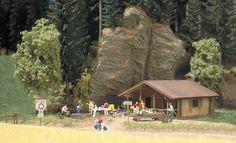 Busch 1035 - Log Cabin