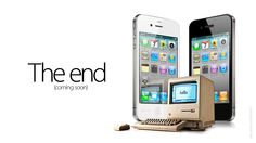 My beloved Mac, its days are numbered, but only to live on through its child iOS.