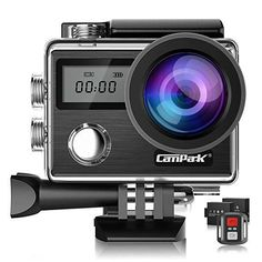 Compatible with The Campark X25 Native 4K Action Camera Navitech 50-in-1 Action Camera Accessories Combo Kit with EVA Case